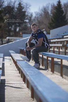 senior photography football
