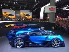 Bugatti vision grand turismo Frankfurt 2015
