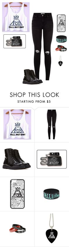"""""""Fall Out Boy"""" by hanakdudley ❤ liked on Polyvore featuring Forever 21, women's clothing, women, female, woman, misses and juniors"""