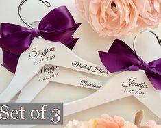 3a572131a1715 Wedding dress hanger Engraved Hanger Custom Bridal Hangers