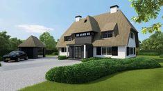 """Voor een nieuw te bouwen villa in Blaricum ontwierpen de architecten van Kabaz """"Gooische"""" villa ontworpen voor een perceel bouwgrond aan de Wallandlaan in Blaricum. De woning heeft een vloeroppervlakte van ca. 220m2 en is nog geheel aan te passen aan de specifieke wensen van de nieuwe eigenaren..."""