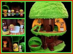 Fisher Price Tree House - One of the first toys I remember...I have mine downstairs in storage right now!