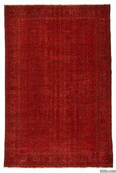 Over-dyed Anatolian Vintage Rug 6x 10 $1200