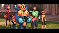 "My contributions to Disney's feature film ""Big Hero 6"".  © Walt Disney Animation Studios"