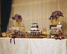 Engagement gold and purple #engagement #bursa #gelin #damat #bride #groom #decoration