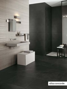 #EWALL black and white   #AtlasConcorde   #Tiles   #Ceramic