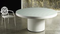 Modern Home and Office Furniture Store ERKELEY 63IN. WHITE DINING TABLE