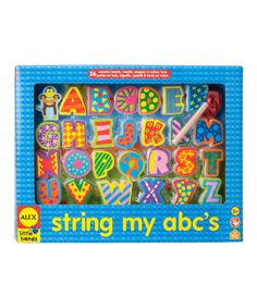 Take a look at this String My ABC's Kit on zulily today!
