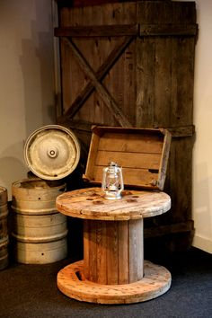 Reclaimed coffee table #Furniture #Ideas #Inspiration #Decor #Design #Reclaimed #Wood #Pallet #Hire #London #TobaccoDock