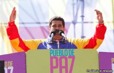 Maduro califica de fascistas a opositores