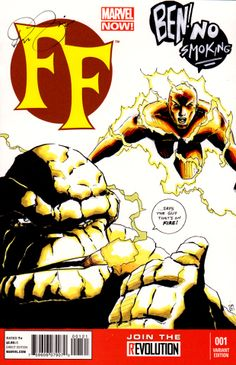 #sketchcover of #TheTHING and #humantorch #marvelcomics #marvel #fantasticfour #superheroes #art #comicbook #comics #sketch #cover #thing #superhero