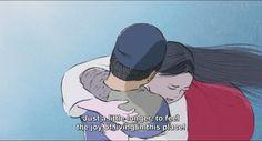 Hug me stronger! | The Tale of the Princess Kaguya