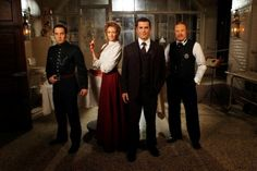 Murdoch Mysteries. One of their writers is my spirit animal- tesla and sir Doyle feature in eps!