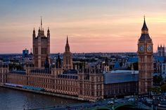 London, England, UK...I want to live in a place where I can see things like this every morning.