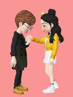 Baby Cartoon Drawing, Cute Cartoon Boy, Love Cartoon Couple, Cute Cartoon Pictures, Cute Love Cartoons, Cute Couple Art, Cartoon Pics, Cute Love Wallpapers, Cute Couple Wallpaper