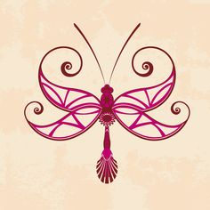 Celtic Dragonfly tattoo