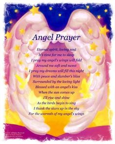 A guardian angel is an angel that is assigned to protect and guide a particular person, group, kingdom, or country. Belief in guardian angels can be traced thro Angel Protector, Archangel Prayers, Attraction, Angel Kisses, Angel Guide, Your Guardian Angel, Guardian Angel Quotes, Night Prayer, I Believe In Angels