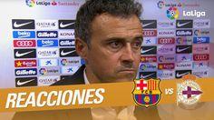 """Interview to Luis Enrique: """"El equipo ha estado a un nivel muy alto"""""""
