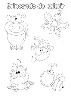 Awesome Most Popular Embroidery Patterns Ideas. Most Popular Embroidery Patterns Ideas. Art Drawings For Kids, Drawing For Kids, Animal Drawings, Easy Drawings, Colouring Pages, Coloring Pages For Kids, Coloring Books, Lettering, Tracing Art