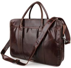 100.83$  Buy now - http://alifo6.worldwells.pw/go.php?t=32735960006 - 100% Guarantee Genuine Cow Leather Briefcase Laptop Bag Men's Handbag 7321 100.83$