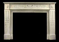mentmore marble fire surround