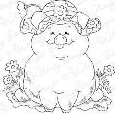Floppy Hatted Pig