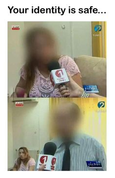 Your Identity Is Safe - When You See it......  Face Blurring fail, LOL #NewsFail #Funny