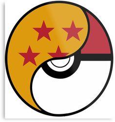 Dragon Ball x Pokemon Kids Clothes Minimalist Icons, Sticker Design, Dragon Ball Z, Superhero Logos, Big Kids, Pokemon, Geek Stuff, Canvas Prints, Notebooks