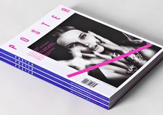 Poster Magazine is a quarterly publication which features the best from the world of design, fashion and art.  Australian studio Toko design was responsible for the magazine