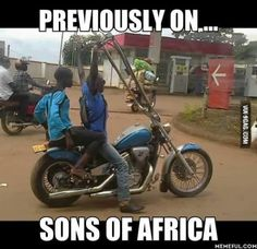 American biker gangs are even asking WTF??