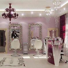 Decoration design salon interior designs for beauty salons interior Small Beauty Salon Ideas, Small Salon, Beauty Salon Decor, Beauty Salon Design, Beauty Salon Interior, Salon Interior Design, Beauty Bar, Beauty Salons, Interior Ideas