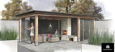 GAEV 206 - Laat het jachtige dagelijkse leven achter u en ontspan in uw eigen moderne tuinkamer. Lekker lang buiten blijven zitten, beschut tegen de wind en regen en van alle gemakken voorzien. Een plek om naar uit te kijken. Een tuinkamer is uitstekend te combineren met een schuurtje of opslagruimte voor tuingereedschap.