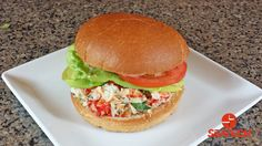 Chilean King Crab Burger Not just a crab cake on a burger but a full flavored burger with little added other than king crab meat