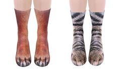 Animal+Socks+Make+Your+Feet+Look+Like+Animal+Paws