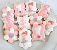 Miss Biscuit - ballerina cookies