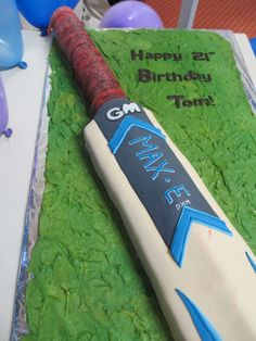 Birthday Cakes – Sugar and Spice and all things nice. Cricket Birthday Cake, Cricket Cake, Birthday Cake Writing, Happy 2nd Birthday, 11th Birthday, Birthday Cakes, Birthday Ideas, Milo Cake, Rugby Cake