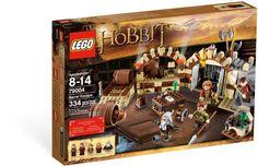 Lego Exclusive Hobbit Set Barrel Escape, Help the Dwarves escape from The Elvenking's wine cellar dungeon! The MirkwoodTM Elves have locked the Dwarves in The Elvenking's palace dungeon! Use the Ring to imagine Bilbo BagginsTM is invis. Lego Le Hobbit, The Hobbit, Mirkwood Elves, Escape, Toys R Us Canada, Wine Bottle Rack, Black Friday Specials, Bilbo Baggins, Journey
