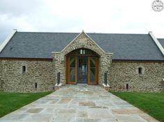 Exterior of Devon barn conversion