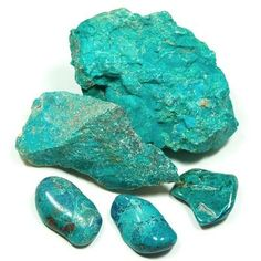 Chrysocolla is a very peaceful stone. Unlike Quartz, which is high energy, or Malachite, which brings things to the surface, Chrysocolla is soothing and calming in times of stress, and brings about gentle release. Chrysocolla is used most often with the Throat Chakra, where it helps with wise communication, but can also be used to balance and strengthen the Heart Chakra, helping one to learn how to live from the truth of the Heart.