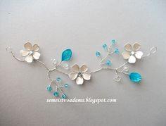 "Wire nail polish necklace ""Winter"" by semeistvoadams.blogspot.com & seehowwemakeit.blogspot.com"