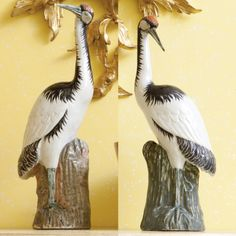 A PAIR OF CHINESE EXPORT FIGURES OF CRANES<br><P>QING DYNASTY, 19TH CENTURY</P> | lot | Sotheby's