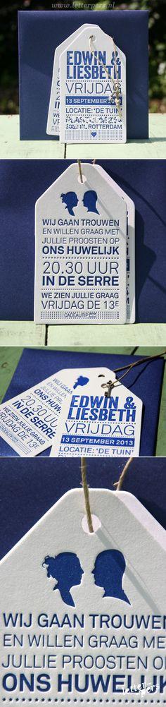 letterpers_letterpress_trouwkaart_Edwin&Liesbeth_blauw_katoen-papier_labels_stoer