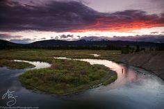 Sunset Bend by Adam Barker/AdamBarkerPhotography.com, via 500px