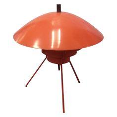 Mid-Century Atomic Flying Saucer Lamp