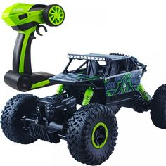 Climbing Rc Car Rock Rally Double Motors Bigfoot Car Remote Control Model Off-Road Vehicle Toy 004 - Radio Control Pictures 4x4, Remote Control Cars, Radio Control, Carros Off Road, Carros Rc, Offroad, Hors Route, Rc Autos, Toys