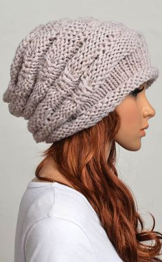 Slouchy hat | Crochet hat.... Mum, can you make this please xo