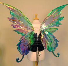 Delia's custom wings, back by FaeryAzarelle.deviantart.com