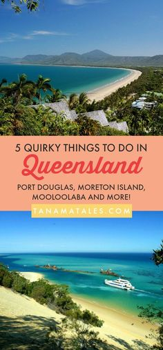 5 Quirky Things to Do in #Queensland, #Australia – Travel Tips and Ideas - Queensland is Australia's holiday haven simply because of its gorgeous beaches, lush and green forests and parks, and tropical laid-back life. Local or tourist, we recommend you trying these quirky things in Queensland at least once in your life.