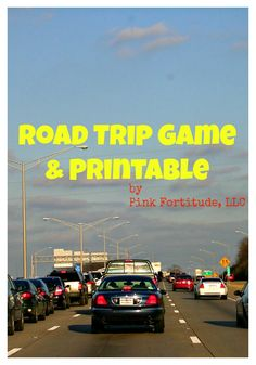 Road Trip Game and Printable License Plate Game by coconutheadsurvivalguide.com