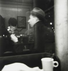 Coffee Shop,New York City ,1950 Saul  Leiter